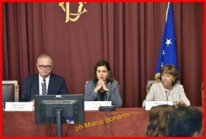 Giovanni Anversa, Laura Boldrini e Milena Santerini
