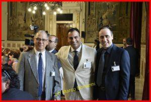Carmine Celardo, Emiliano Varanini e Antonello De Pierro