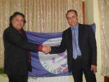 Carlo Spinelli con il presidente dell'Italia dei Diritti Antonello De Pierro
