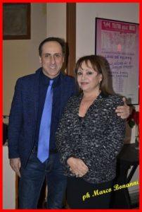 Antonello De Pierro e Adriana Russo