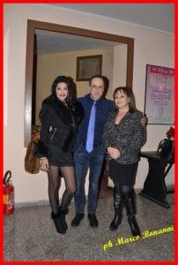 Antonello De Pierro, Adriana Russo e Sara Cardilli