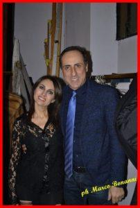 Antonello De Pierro e Roberta Sanzò