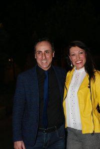 Antonello De Pierro e Floriana Rignanese