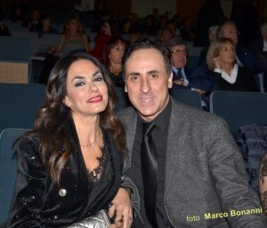 Antonello De Pierro e Maria Grazia Cucinotta