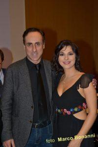 Antonello De Pierro e Pamela D'Amico